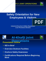 Safety Orientation for New Employees