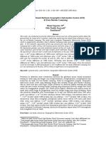 Studi Air Tanah Berbasis Geographics Information System