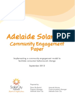 Adelaide Solar City Community Engagement Paper
