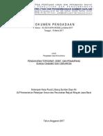 Dokumen Seleksi Banjir Bandung