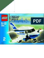 LEGO Set 2928 - Airplane