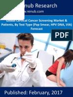 Global Cervical Cancer Screening Market Forecast