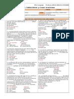 3M PSU 105 Guía 5. Seleccionar y Crear Oraciones (PSU 2014) (1).doc