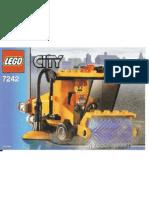 LEGO Set 7242 - Street Sweeper