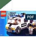 LEGO Set 7245 - Prisoner Transport