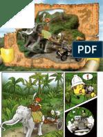 LEGO Set 7414 - Elephant Caravan