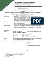 11 Contoh SK Pengangkatan Sebagai Kepala Lab. IPA Format Word Terbaru