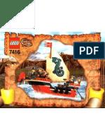 LEGO Set 7416 - Emporers Ship