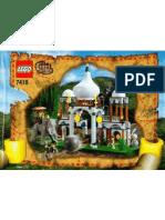 LEGO Set 7418 - Scorpion Palace