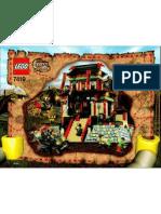 LEGO Set 7419 - Dragons Fortress
