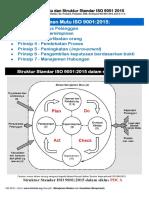 Prinsip Manajemen Mutu Dan Struktur