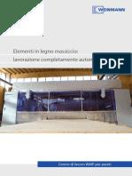 Weinmann Centro Di Lavoro WMP Per Pareti Italiano