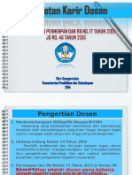Paparan Jabatan Fungsional Dosen 2014