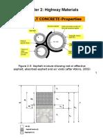Calculation of Asphalt Concrete Properties