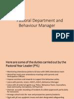 pastoral department 2015