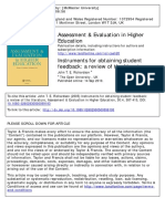 Instruments for Obtaining Student Feedback_a Review of the Literature