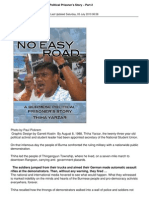 8861 No Easy Road a Burmese Political Prisoners Story Part 2