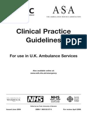 JRCALC Guidelines v3 2004 | Patient | Caregiver