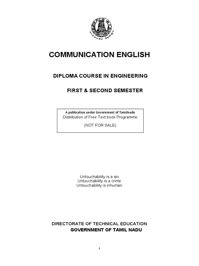 Communication-English pdf   Part Of Speech   Verb
