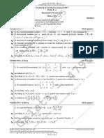 E c XI Matematica M Mate-Info 2017 Var Simulare LRO