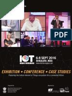 IoT India Congress Key Take Aways Report 2016