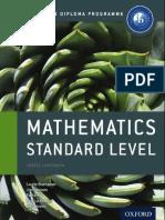 Oxford IB Maths SL Course Companion
