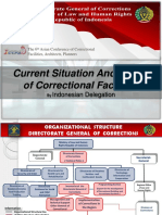 Current Situation and Issues of Correctional Facilities (Indonesia)