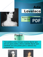 Ada Lovelace - Lidia