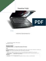 T420  especificaciones
