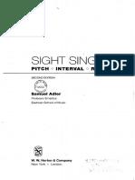 Sight Singing - Adler Samuel (1)