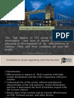 Tourist Destination for TUI Group