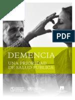 Demencia - Una prioridad de salud pública OMS.pdf