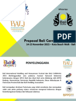Proposal Bali Carnaval