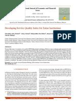 Index Zakat Institutions