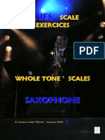 Blues Scale Exercices Saxophone (Demo)