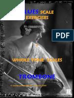 Blues Scale Exercices Trombone (Demo)