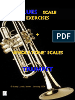 Blues Scale Exercices Trumpet (Demo)