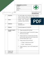 8.1.1.1. SOP Pemeriksaan HCG Dengan Test Pack