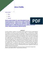 Akuntansi Sektor Publik (CSR)