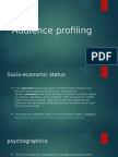 my documentsaudience profiling