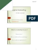 Digital Marketing Part 1