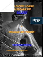 Ejercicios Escala de Blues Trombón (Demo)