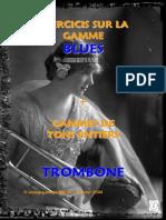 Exercices Gamme Blues Trombone (Démo)