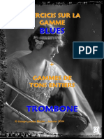 Exercices Gamme Blues Trombone (Démo)