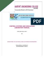 Cs Lab Manual