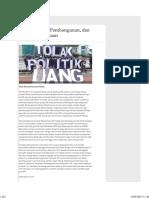 Tahun Politik, Pembangunan, Dan Ekonomi Pedesaan - Serambi Indonesia
