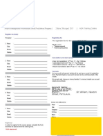 PMP Registration Form 2017