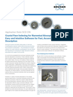 An SCD 374 Crystal Face Indexing for Numerical Absorption Correction DOC-A86-EXS001 Web