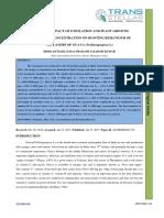 39. Agri Sci - IJASR-Studies on Impact of Etiolation and Plant Growth Regulators Concentration