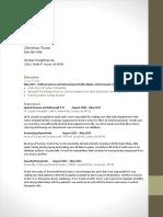 resume christian teran portfolio